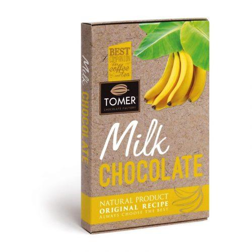 Молочный шоколад с бананом 33%