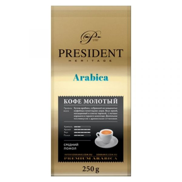 Кофе молотый натуральный 250 грамм