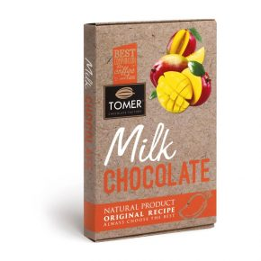 Молочный шоколад с манго