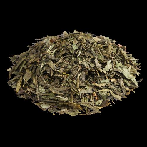 зеленый чай Зеленый с мятой