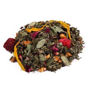 Чайный напиток - Малина с мятой (Премиум)