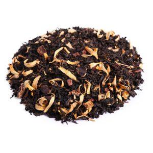 Черный чай - Апельсин в шоколаде