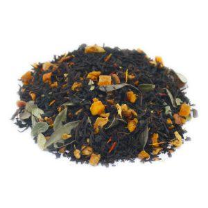 """Ароматизированный черный чай """"Айва с персиком"""""""