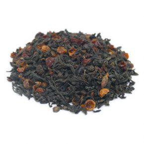 """Китайский красный чай """"Хун Цао Хун Ча (Красный чай с шиповником)"""""""