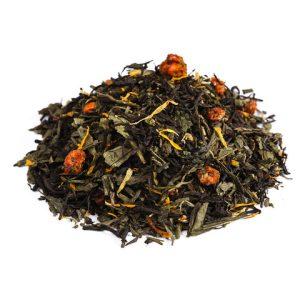"""Ароматизированный зеленый чай """"Облепиховый (на сенче)"""""""