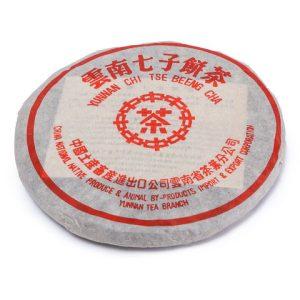 """Китайский чай """"Шу Пуэр, блин, 357 гр. №6 (2015 г., фабрика Куньмин)"""""""