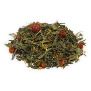 """Ароматизированный зеленый чай """"Ягодная страна"""""""