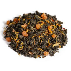 """Ароматизированный зеленый чай """"Манговый блюз"""""""