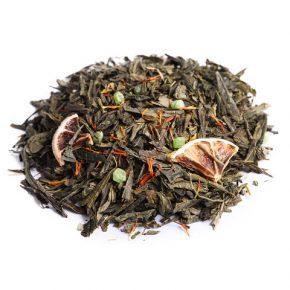 """Ароматизированный зеленый чай """"Мохито"""""""