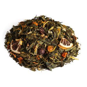 """Ароматизированный зеленый чай """"Облепиха с лимоном"""""""