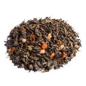 """Ароматизированный зеленый чай """"Облепиховый"""""""