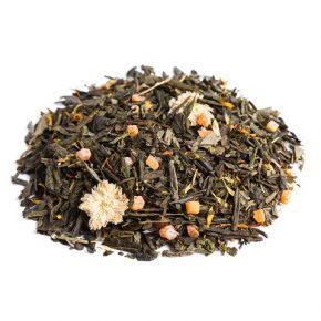 """Ароматизированный зеленый чай """"Персиковый рай"""""""