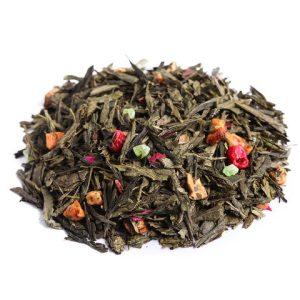 """Ароматизированный зеленый чай """"С яблочком"""""""