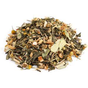 """Ароматизированный зеленый чай """"Японская липа"""""""