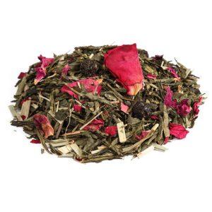 """Ароматизированный зеленый чай """"Японская вишня"""""""