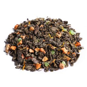 """Ароматизированный зеленый чай """"Зеленое яблоко"""""""