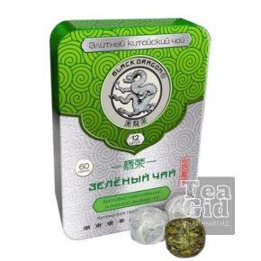 Зеленый чай прессованный