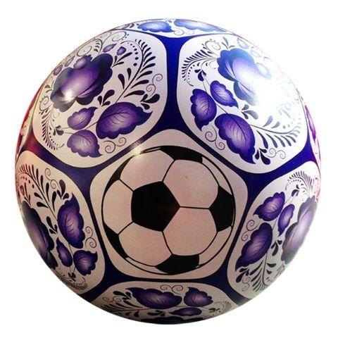 Футбольный мяч (гжель)