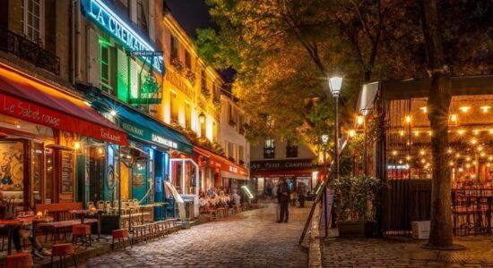Кофейня Парижа